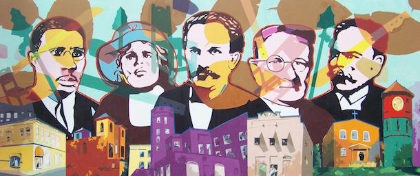 Mural Credit: Edgar Sanchez Cumbas, Kaleidoscope: Heritage of Color, MacFarlane Park Tampa